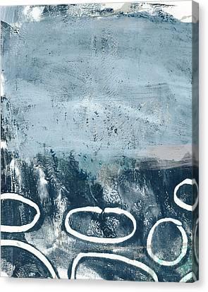River Walk 2- Art By Linda Woods Canvas Print by Linda Woods