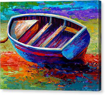 Riviera Boat IIi Canvas Print by Marion Rose