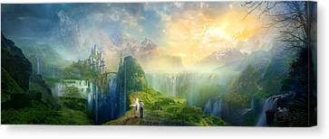 Road To Oalovah Canvas Print by Philip Straub