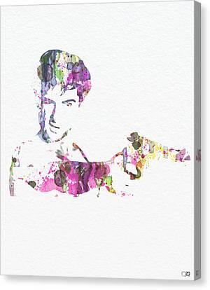 Robert De Niro Taxi Drvier Canvas Print by Naxart Studio