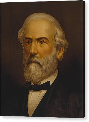 Robert E Lee Canvas Print by War Is Hell Store