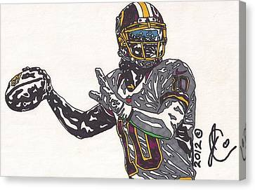 Robert Griffin IIi 2 Canvas Print by Jeremiah Colley