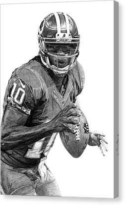 Robert Griffin IIi Canvas Print by Bobby Shaw
