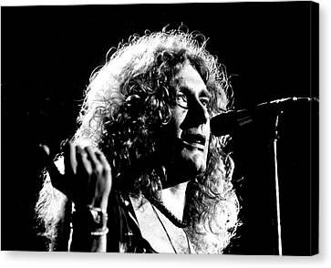 Robert Plant 1975 Canvas Print by Chris Walter