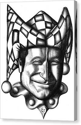 Robin Williams Canvas Print by Robert Shoemaker IV