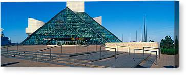 Rock And Roll Hall Of Fame Museum Canvas Print by Panoramic Images