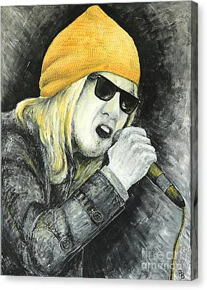 Rock Star Canvas Print by Home Art