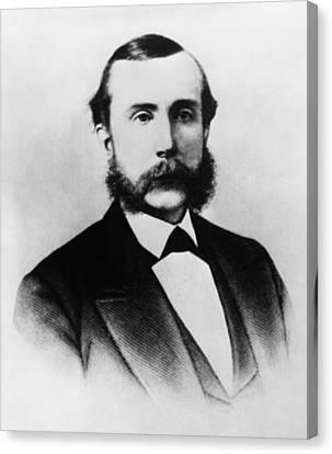 Rockefeller Family. Industrialist John Canvas Print by Everett