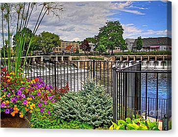 Rockford Michigan Canvas Print by Robert Pearson