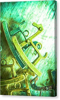 Rocking Horse Metal Toy Canvas Print by Jorgo Photography - Wall Art Gallery