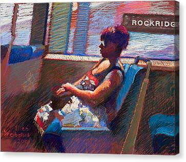 Rockridge Canvas Print by Ellen Dreibelbis