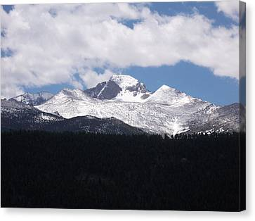 Rocky Mountains Canvas Print by Heather Chaput