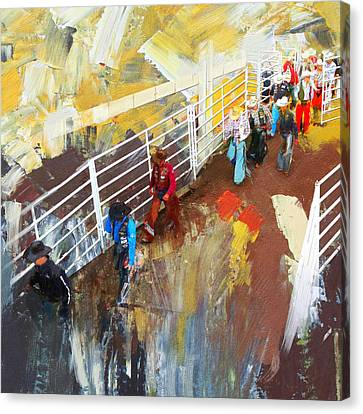 Rodeo 41 Canvas Print by Maryam Mughal