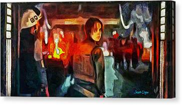 Rogue One Looking Back - Pa Canvas Print by Leonardo Digenio