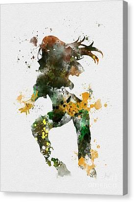 Rogue Canvas Print by Rebecca Jenkins