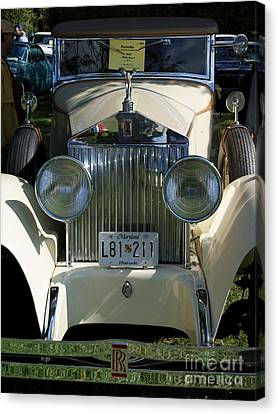 Roller Canvas Print by David Pettit