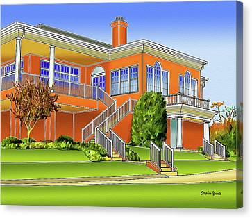 Rolling Road Golf Club Canvas Print by Stephen Younts
