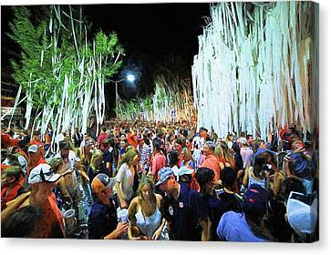 Rolling Toomer's Corner Canvas Print by JC Findley