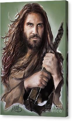 Rollo /vikings / Canvas Print by Melanie D