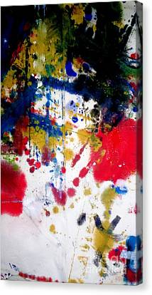 Romak Abstract Canvas Print by Amy Sorrell