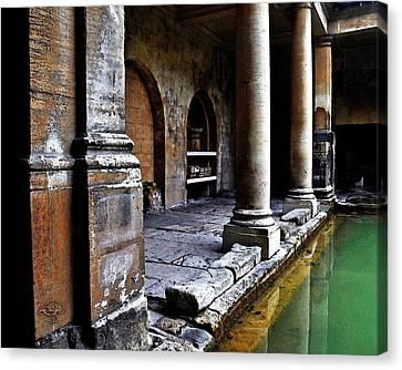 Roman Pillars  Canvas Print by Vicki Lea Eggen