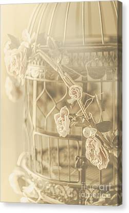 Romance In A Captive Entanglement Canvas Print by Jorgo Photography - Wall Art Gallery