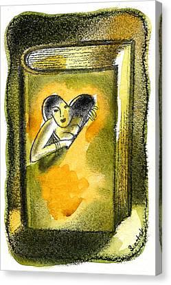 Romance Canvas Print by Leon Zernitsky