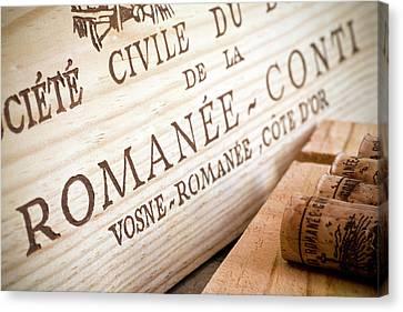 Romanee-conti Canvas Print by Frank Tschakert