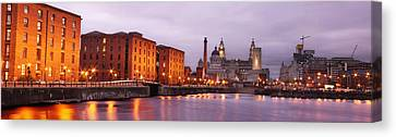 Romantic Liverpool Canvas Print by Sydney Alvares