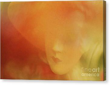 Romantic Woman Canvas Print by Lutz Baar
