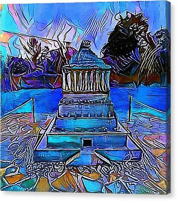 Rome - My Www Vikinek-art.com Canvas Print by Viktor Lebeda
