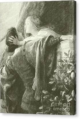 Romeo And Juliet Canvas Print by Frank Dicksee