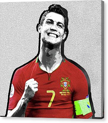 Ronaldo Nixo Canvas Print by Nixo Nixolas