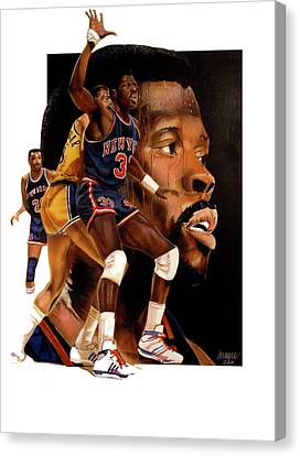 Rookie Faces Idol Canvas Print by Dwayne Lester
