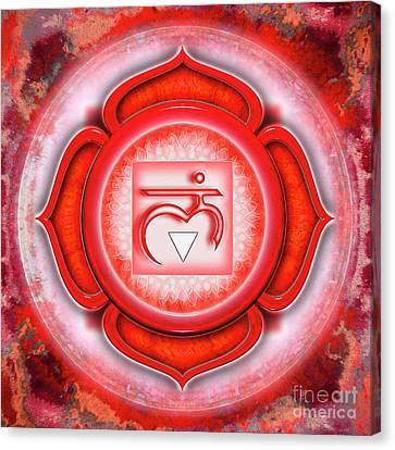 Root Chakra - Series 5 Canvas Print by Dirk Czarnota