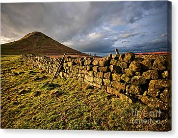 Roseberry Topping Canvas Print by Stephen Smith