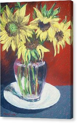 Rosemarys Gift Canvas Print by Dolores Holt