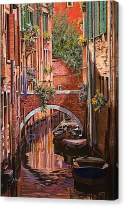 Rosso Veneziano Canvas Print by Guido Borelli