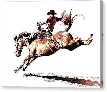 Rough Ride Canvas Print by Sean Holmquist