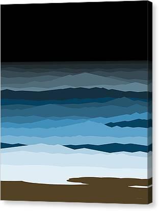 Rough Seas Canvas Print by Val Arie