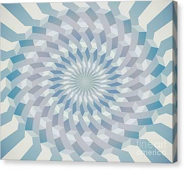 Round Pattern 170.4 Canvas Print by Igor Kislev