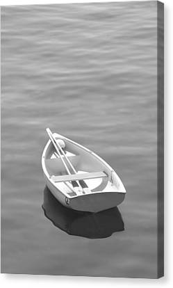 Row Boat Canvas Print by Mike McGlothlen