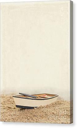 Row Row Row Your Boat Canvas Print by Edward Fielding