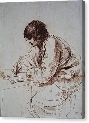 Royal Guercino Canvas Print by John