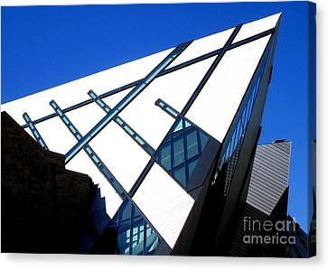 Royal Ontario Museum 1 Canvas Print by Randall Weidner