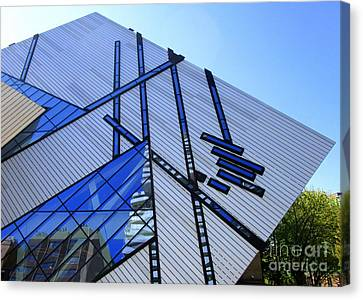 Royal Ontario Museum 2 Canvas Print by Randall Weidner
