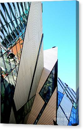 Royal Ontario Museum 3 Canvas Print by Randall Weidner