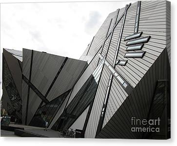 Royal Ontario Museum 4 Canvas Print by Randall Weidner