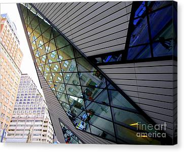 Royal Ontario Museum 5 Canvas Print by Randall Weidner