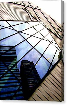 Royal Ontario Museum 7 Canvas Print by Randall Weidner